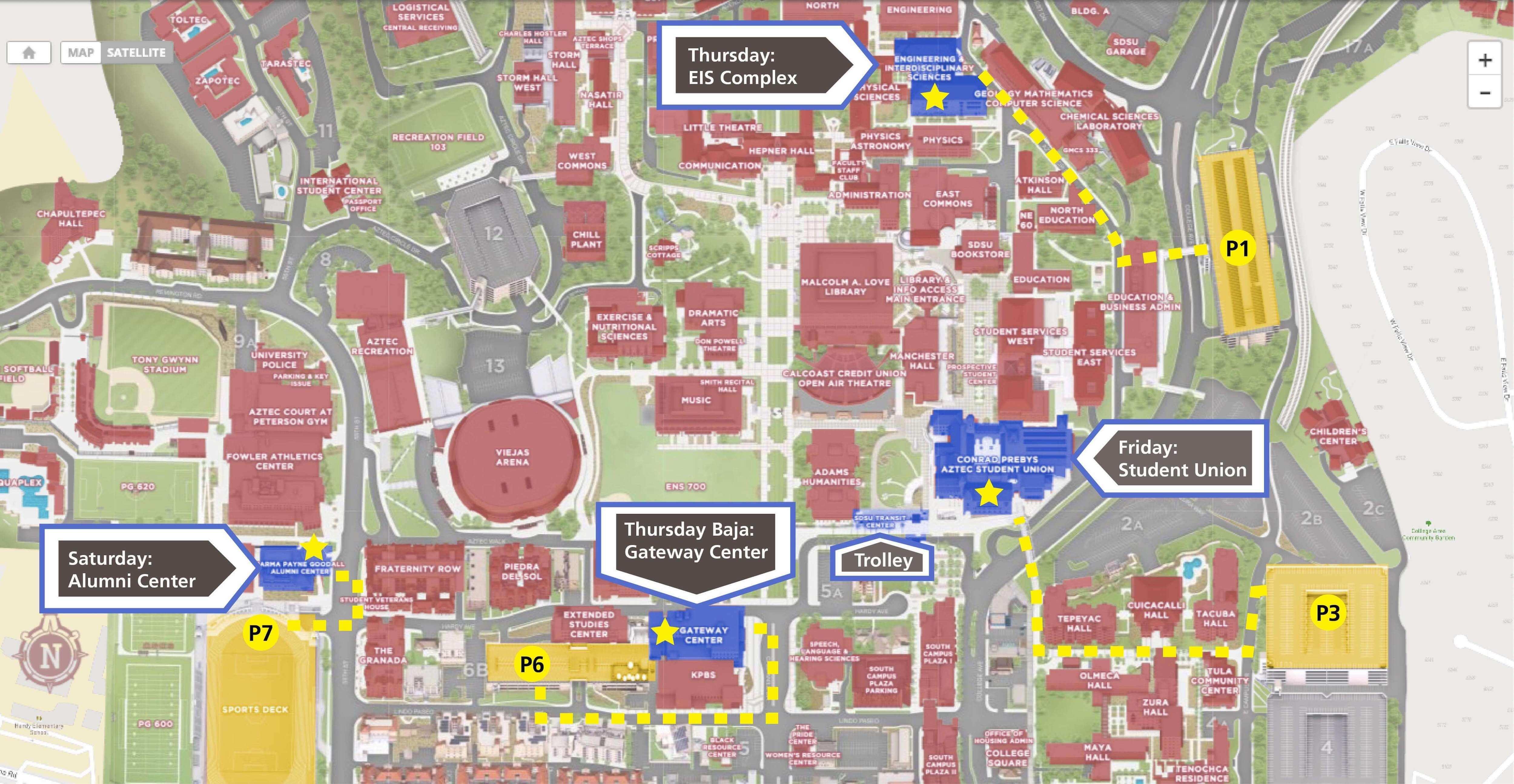 sdsu campus map 2015 Entrepreneurship Conference 2019 Programs Lavin