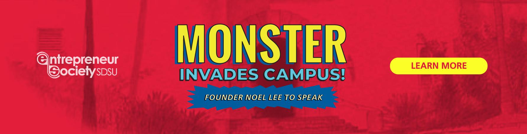 Noel Lee Founder of Monster Spoke on Campus